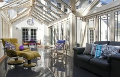 modern interior design Conservatory Interiors, Modern Conservatory, Conservatories, Modern Interior Design, Contemporary, Gallery, Touch, Glass, Home