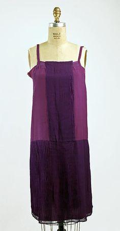 Ensemble Mariska Karasz  (American, born Budapest, 1898–1960) Date: ca. 1927 Culture: American Medium: silk