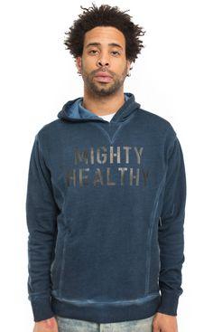 Mighty Healthy, Martime Pullover Hoodie - Sweatshirts / Hoodies - MOOSE Limited