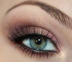 wedding makeup for fair skin and green eyes - Google Search