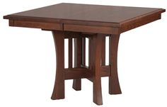 Craftsman Table in Solid Oak, furniture you can cherish and hand down to your children.