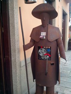 Figura Peregrino #Ponferrada #ElBierzo