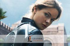 Rebecca Ferguson (Ilsa) Biker Jacket