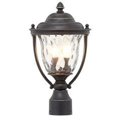 Prestwick Collection 2 Light Oil Rubbed Bronze Outdoor Post Lantern Progress Lightingoil