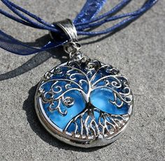 Round Stained Glass and Filigree Pendant  by colorshoppestudio, $25.00