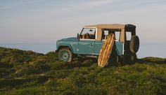 The Ultimate Beach Runner. A coastal-inspired, customized Landy.