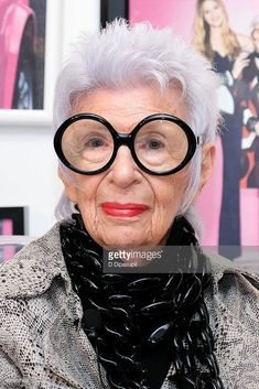 Iris Apfel discusses the 'Iris Meets INC' fall fashion collection at Macy's Herald Square on September 15, 2016 in New York City.
