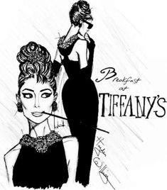 Hayden Williams Breakfast at Tiffany's Audrey Hepburn Audrey Hepburn Zeichnung, Audrey Hepburn Kunst, Audrey Hepburn Drawing, Hayden Williams, Fashion Illustration Sketches, Fashion Sketches, Drawing Sketches, Drawings, Breakfast At Tiffanys