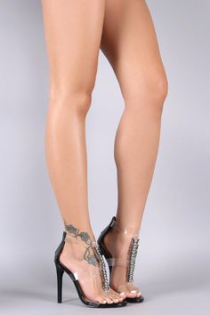 22040b206db0 These breathtaking single sole heels features a vegan patent leather  design