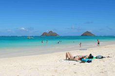 Laniki beach, Hawaii