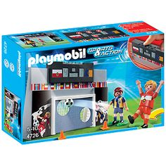 Playmobil Sports & Action: Voetbalmuur Met Spelers (4726)