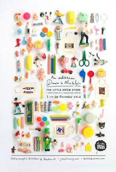 cutielittledimple: exhibition poster