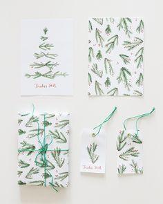 Weihnachtsgeschenke verpacken mit weihnachtlichem Verpackungsmaterial zum Ausdrucken | Free Printables | Gift wrapping Gift Wrapping, Wrapping Ideas, Blog, Wraps, Printables, Handmade, Gifts, Inspiration, Paper Mill