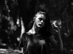 Hedi Slimane, photographing Frances Bean Cobain