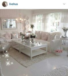 Beautiful living room. Credit to the owner of ig: livshus