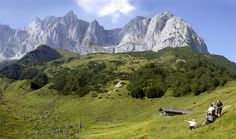 Hiking, #Sommer, #Wilder Kaiser (via @stanglwirt) - www.stanglwirt.com