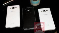 Los Galaxy A3 y A5, los smartphones de aluminio de Samsung