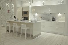 South Beach Condos - Custom Kitchen