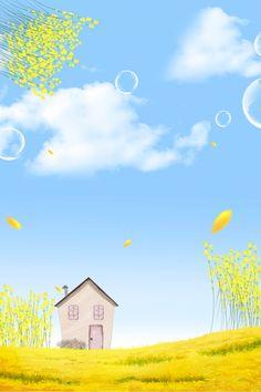 Best Flower Wallpaper, Cute Flower Wallpapers, Flower Backgrounds, Wallpaper Backgrounds, Background Drawing, Watercolor Background, Watercolor Flowers, Spring Background Images, Canola Flower