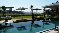 Hotel Santa Tereza: de todos os quartos e jardins você tem uma vista deslumbrante panorâmica do porto e da Baia de Guanabra. Rio de Janeiro