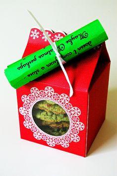 """Fun """"neighbor"""" Christmas gifts - Grinch cookies, stir spoons, elf rice packs, etc."""