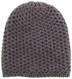 Inverni chunky knit beanie on shopstyle.com