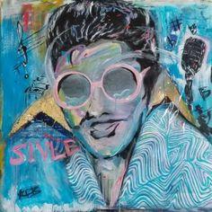 """Saatchi Art Artist Agnes Bae; Painting, """"Blue Blues"""" #art"""