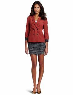 50 Euro Maison Scotch Damen Blazer, 12240730854 - cute double breasted blazer in diff qty: Amazon.de: Bekleidung