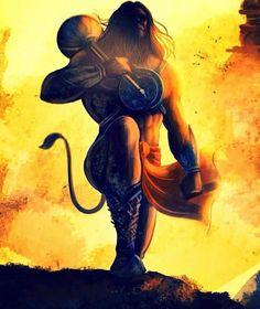 lord shiva by abhishek singh Lord Vishnu, Lord Shiva, Hanuman Ji Wallpapers, Hanuman Images, Hanuman Pics, Hanuman Chalisa, Hanuman Tattoo, Mahakal Shiva, Krishna