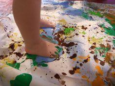 #Paintingwithyourfeet #holburnemuseum
