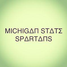 Michigan State Spartans #Padgram
