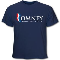 The Mitt Romney Store - Mitt Romney for President T-Shirt Blue, $19.95 (http://www.themittromneystore.com/mitt-romney-for-president-t-shirt-blue/)