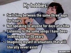 My hobbies: