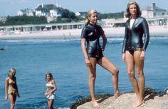 Bailey's Beach Club in Newport, Rhode Island -- Photograph by Slim Aarons, 1965