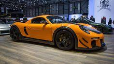 RUF tuned CTR3 Porsche. 750bhp and 229mph. Wow!