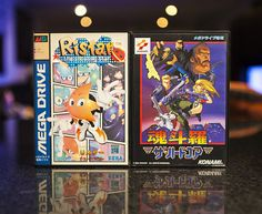Ristar & Contra Hard Corps for Sega Mega Drive #Sega #SegaMegaDrive #MegaDrive #SegaGenesis #HardCorps #Contra #ContraHardCorps #Ristar