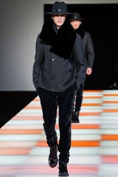 Emporio Armani Fashion Show & More Luxury Details