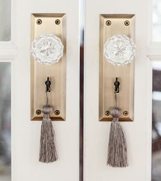 609d418fa3f New York Plate with Waldorf Crystal Passage Knob in Antique Brass Aubergine  Bedroom, Crystal Door