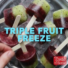 Triple Fruit Freeze Recipe