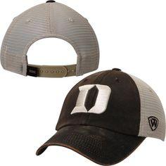 separation shoes c6981 72732 Duke Blue Devils Top of the World Brown Scat Mesh Adjustable Snapback Hat  Cap