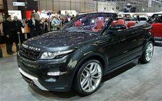 Range Rover Evoque Convertible - future car