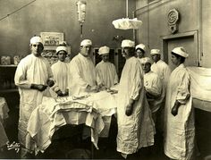 Cirugía en el Bellevue Hospital (Nueva York, 1880)