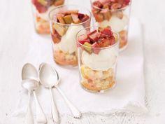 Rhabarber-Mascarpone-Trifle |