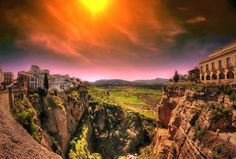 Ronda, Andalusia, Spain - the town named after me ;)