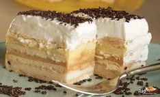 Pudding butter biscuit cake without baking - Kuchen - Best Tart Recipes Tart Recipes, Sweet Recipes, Dessert Recipes, Cooking Recipes, Pudding Desserts, Food Cakes, Cupcake Cakes, Shortbread Cake, Shortbread Recipes
