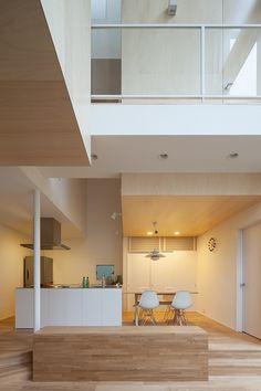 濱田設計:House T住宅