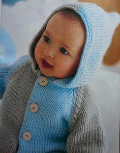 Вязание Новорожденным   Вязание спицами, крючком, схемы вязания - Part 16