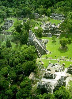 Mayan Ruins at Tikal - Guatemala Tikal, Mayan Ruins, Ancient Ruins, Aztec Ruins, Oh The Places You'll Go, Places To Visit, Beau Site, Site Archéologique, Guatemala City