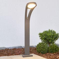 Grafitowy słupek oświetleniowy LED SOFIAN 9964005