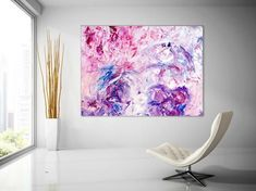 Extra Large Wall Art Palette Knife Artwork Original Painting on Canvas Huge Size Art Modern Wall Decor Contemporary Art Texture Painting On Canvas, Acrylic Painting Canvas, Canvas Paintings, Abstract Paintings, Bathroom Paintings, Portrait Paintings, Large Painting, Contemporary Wall Art, Modern Wall Decor
